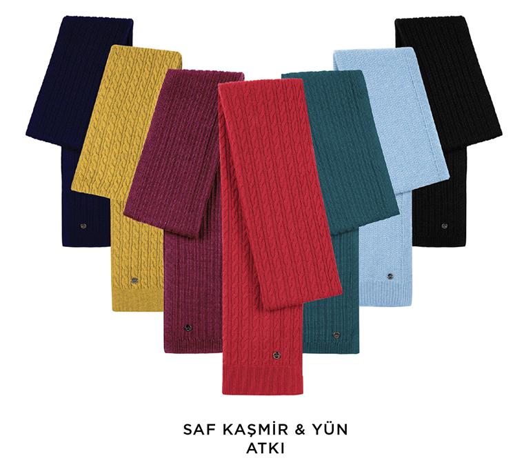 Saf Kaşmir Yün Koleksiyonu