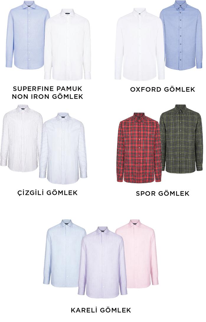 Hediye Alınabilecek Bol Alternatifli Gömlek